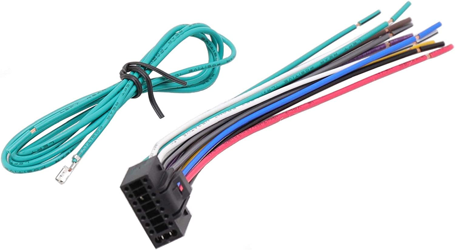RDBS 40 Pin Fit for Kenwood Radio Stereo Wiring Harness car ...
