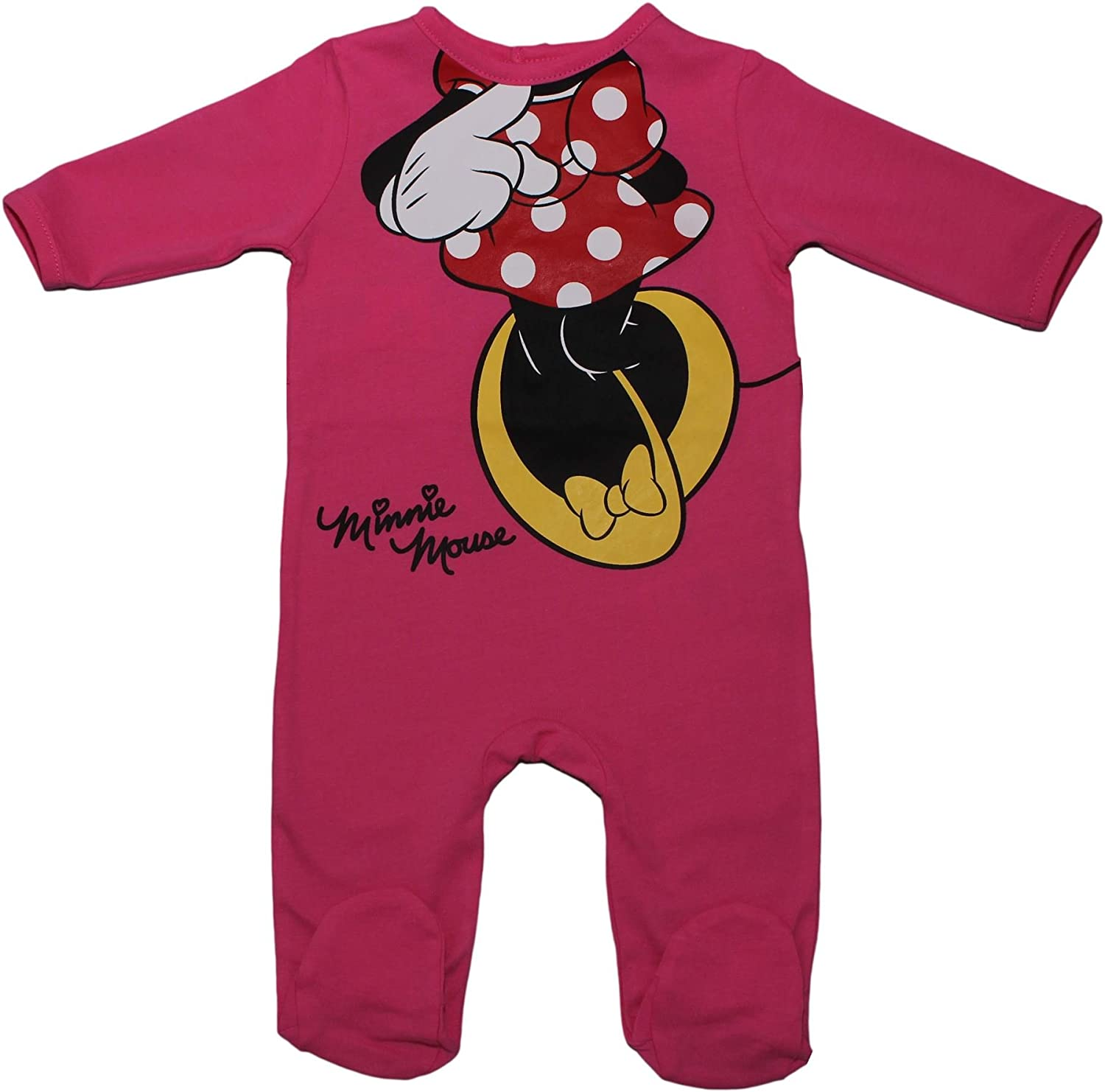 Minnie Baby Girls' Full Print Sleepsuit ER0303