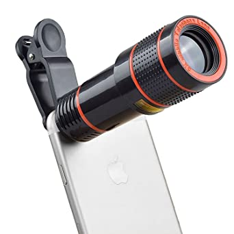 The 8 best 8x zoom telephoto clip on phone camera lens