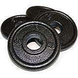 Body Power Cast Iron STANDARD Discs 0.5kg (x4)