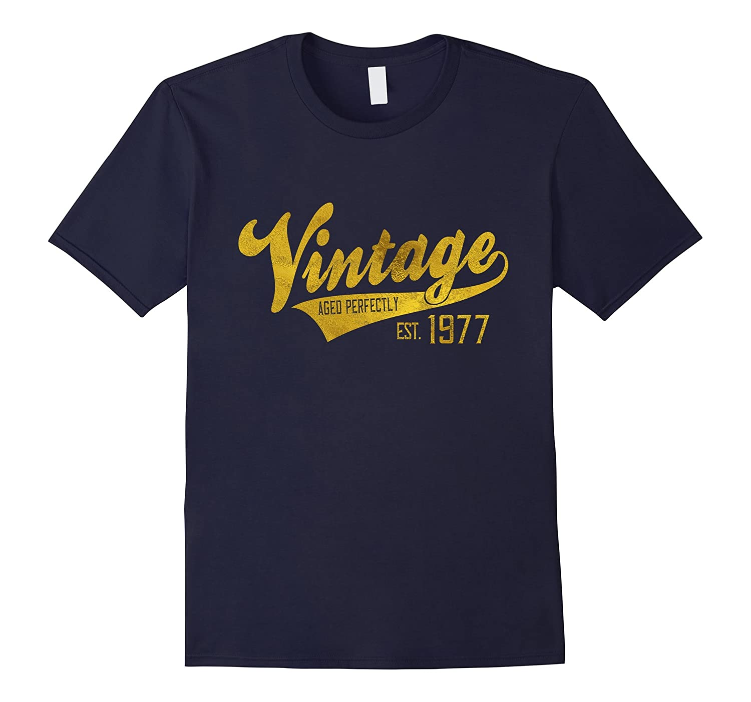 Vintage Est 1977 T-Shirt 40 yrs old B-day 40th Birthday Gift-CL