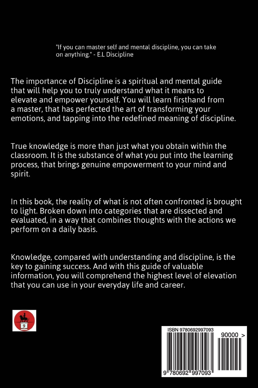 importance of discipline