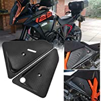 B Baosity Front Fork ForkShield Updraft Airflow Deflector Air Dam Cover for Honda CRF1000L African Twin 2016 2017 2018 2019