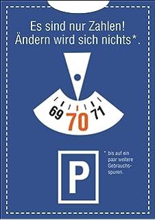 Geburtstag Im Parkuhr Look: Es Sind Nur Zahlen! Ändern Wird