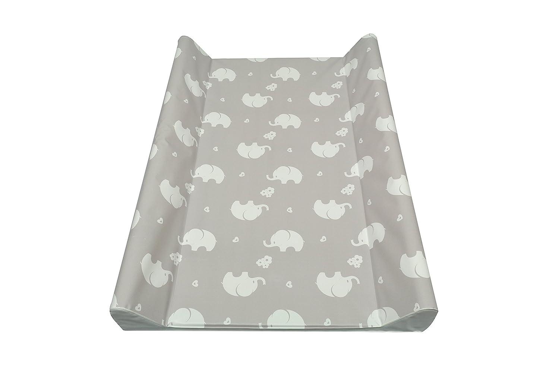 Asmi 2 - Wedge Baby Changing Mat 50x70 cm Elephant (ecru Elephant) 71468