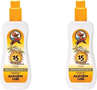 product image for Australian Gold Spf#15 Spray Gel Ultimate Hydration 8 Ounce (235ml) (2 Pack)