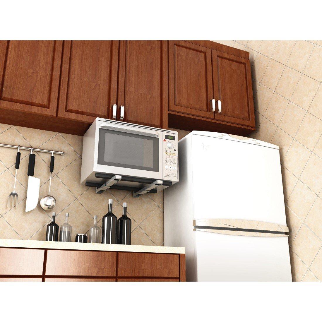 Xavax 00110931 - Soporte para microondas, color plateado: Amazon.es: Hogar