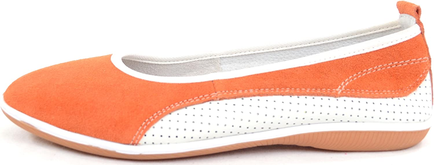 SNUGRUGS Ladies//Womens Leather//Suede Summer Slip On//Ballet//Pumps//Flats//Shoes
