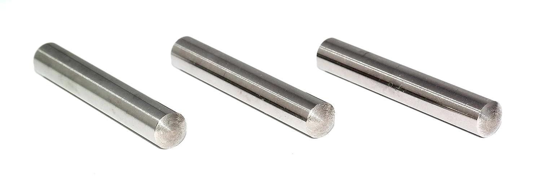 20 St/ück Zylinderstifte 4x36 DIN 7 Stahl blank Zylinderstift Pa/ßstifte Toleranz M6