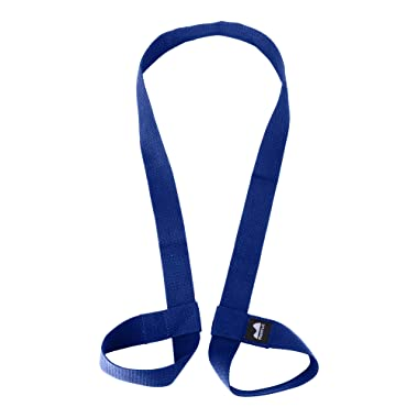 REEHUT Yoga Mat Strap, Adjustable Yoga Mat Carrier Holder for Carrying, Doubles As Yoga Strap for Stretching-Durable/Cotton Yoga Mat Slings (Yoga MAT NOT Included)