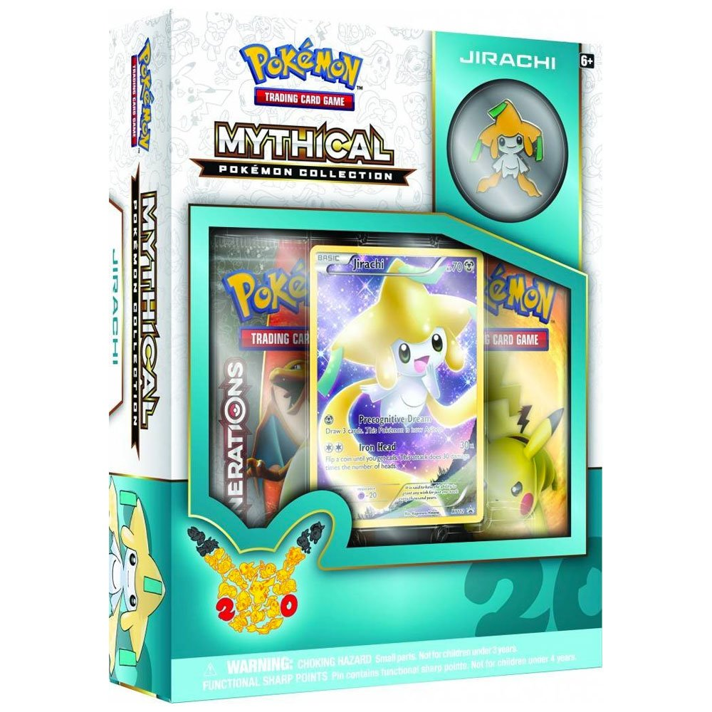 Pokémon TCG: Mythical Collection-Jirachi Card Game R&M 290-80088