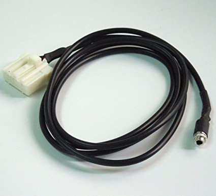 Car AUX Audio Input Cable 3.5MM Female Plug For Mazda 3 Mazda 6 Mazda 5