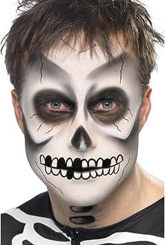 Halloween Schminke Bilder.Net Toys Halloween Schminke Skelett Make Up Halloweenschminke Skelettschminke Makeup Kostum Zubehor Amazon De Spielzeug