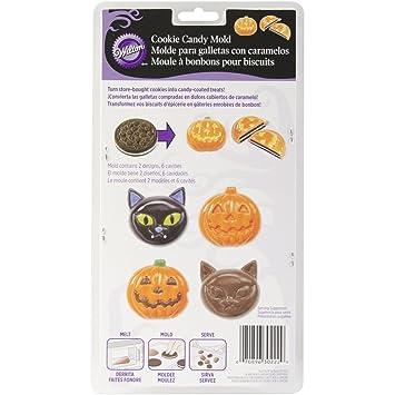 Wilton Set de moldes para galletas rellenas, diseño de calabaza y gato: Amazon.es: Hogar