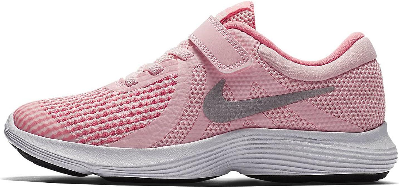 Nike Revolution 4 (PSV), Zapatillas de Trail Running para Niñas, Rosa (Arctic Punch/Metallic Silver 600), 31.5 EU: Amazon.es: Zapatos y complementos