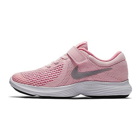Nike Revolution 4 (PSV), Zapatillas de Trail Running para Niñas, Rosa (
