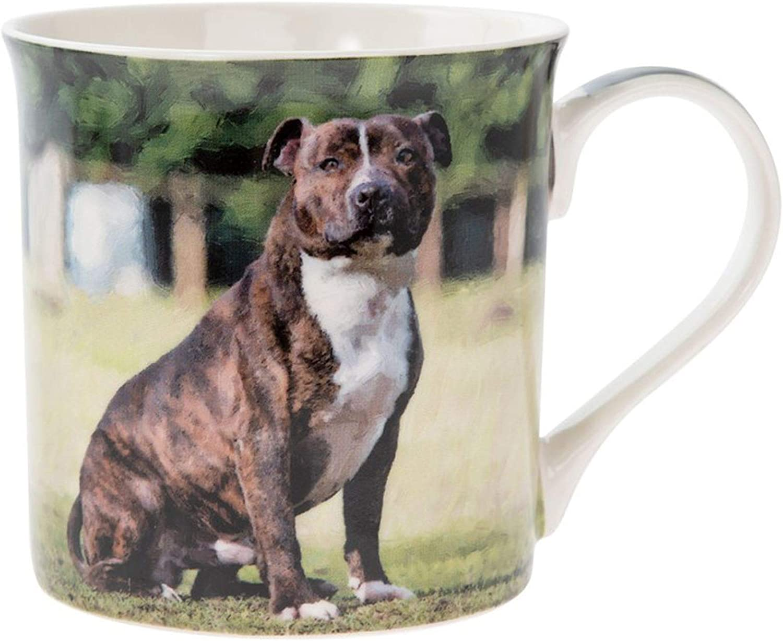AD-SBT2RlymMG Staffie with Rose /'Love You Mum/' Coffee//Tea Mug Gift Idea