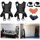 Furniture Moving Straps, Shoulder Lifting Straps for Furniture, Mattress, Piano, Refrigerator, Appliance Carrying Strap Heavy