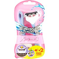 Wilkinson Sword Xtreme 3 Beauty Einwegrasierer, 4 Stück + 2 gratis