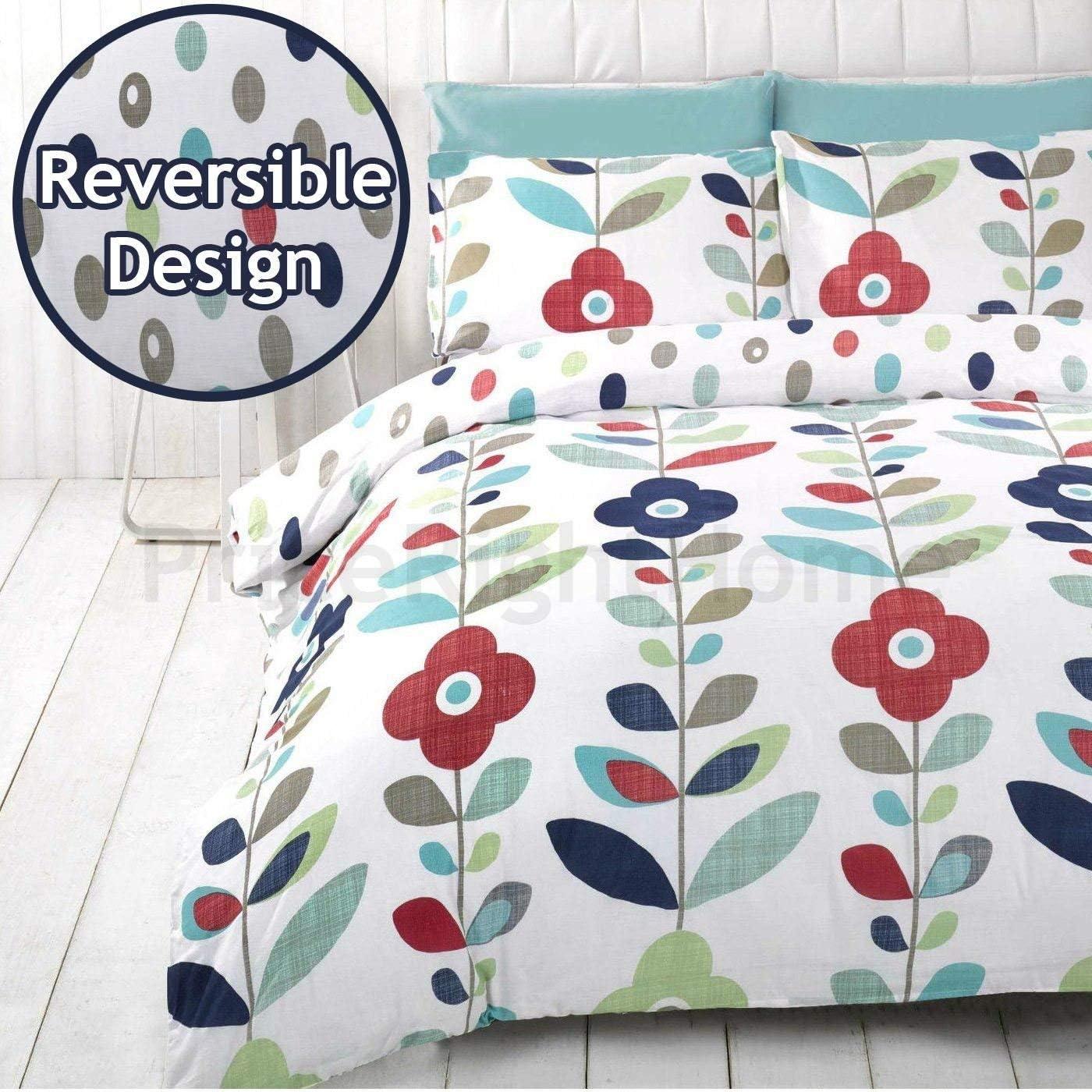 DuvetQuilt Cover + 2 Pillowcase Cotton