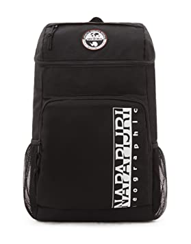 Napapijri HAPPY BACK PACK Mochila tipo casual, 42 cm, 20 liters, Negro (Black): Amazon.es: Equipaje