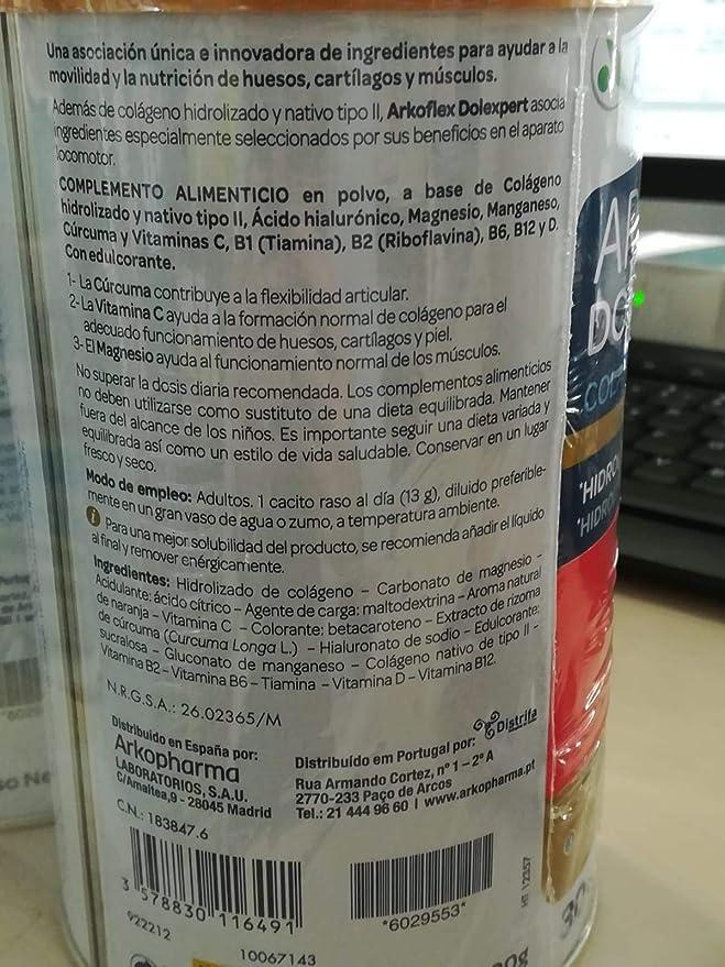 ARKOFLEX COLAGENO FORMULA EXPERT 2X390 G: Amazon.es: Salud y cuidado personal