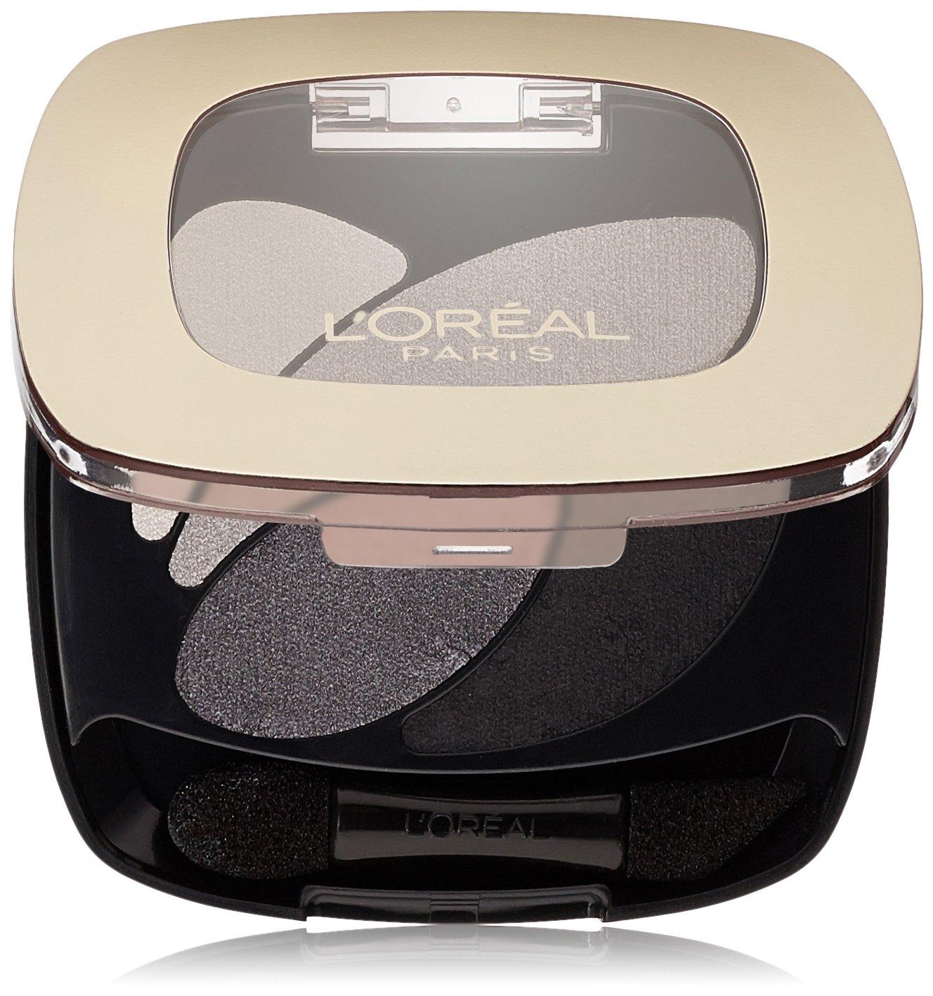 L'Oreal Paris Colour Riche Dual Effects Eyeshadow, Incredible Grey [260] 0.12 oz