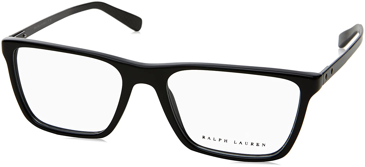 0fb67149d438 Ralph Lauren Men's RL6163 Eyeglasses 55mm at Amazon Men's Clothing store: