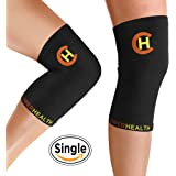 CopperHealth - Copper Knee Brace, Copper Knee Sleeves, Knee Compression Sleeve Women, Knee Supports for Men. Active Copper Compression Fit Knee Sleeve. Wear anytime