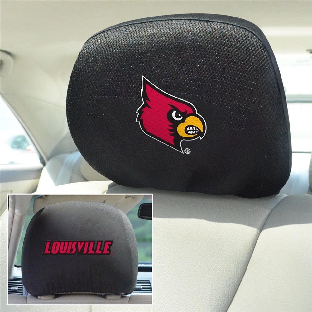 Fan Mats 12578 University of Louisville Cardinals 10 x 13 Head Rest Covers