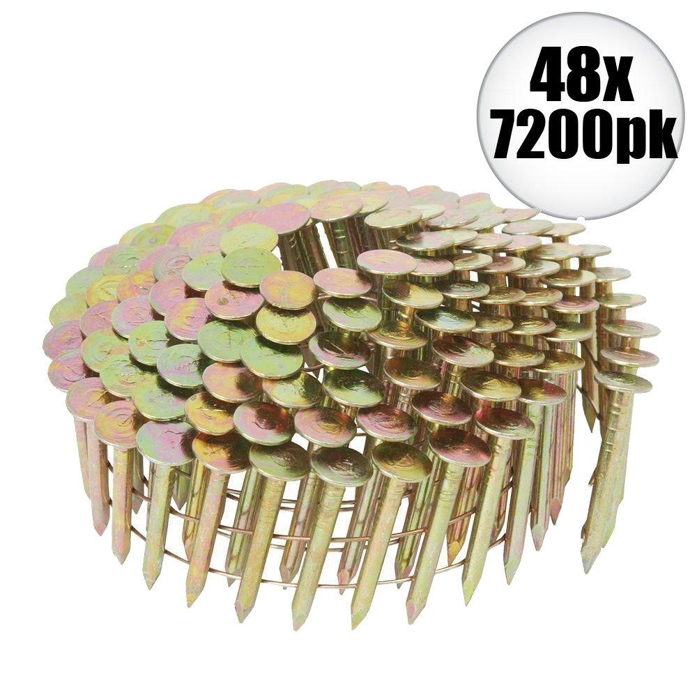 Hitachi 12111 42x 7200pk 1-1/4 x .120 Galvanized Roofing Nail