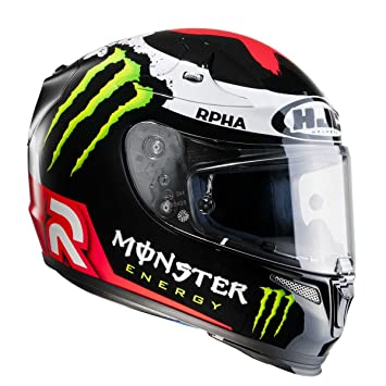 HJC-moto-Cascos HJC RPHA 10 Plus Replica Lorenzo 2 (Monster) L