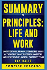 Summary of Principles: Life and Work By Ray Dalio Paperback