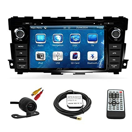 Amazon.com: Car GPS Navigation System for Nissan Altima Sedan 2013 ...