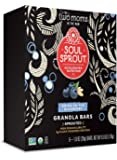 Soul Sprout by Two Moms Sprouted Granola Bars, Bring on the Blueberry