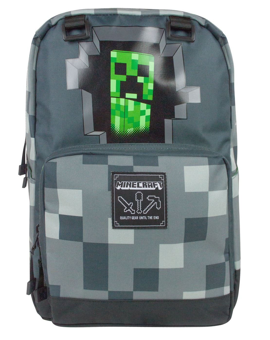 Minecraft Creeper Inside Backpack Luggage 3 Way Switch Wiring Diagram