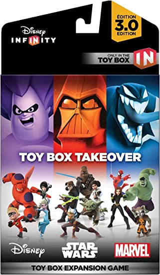 Disney Infinity 3 0 Toy Box Takeover