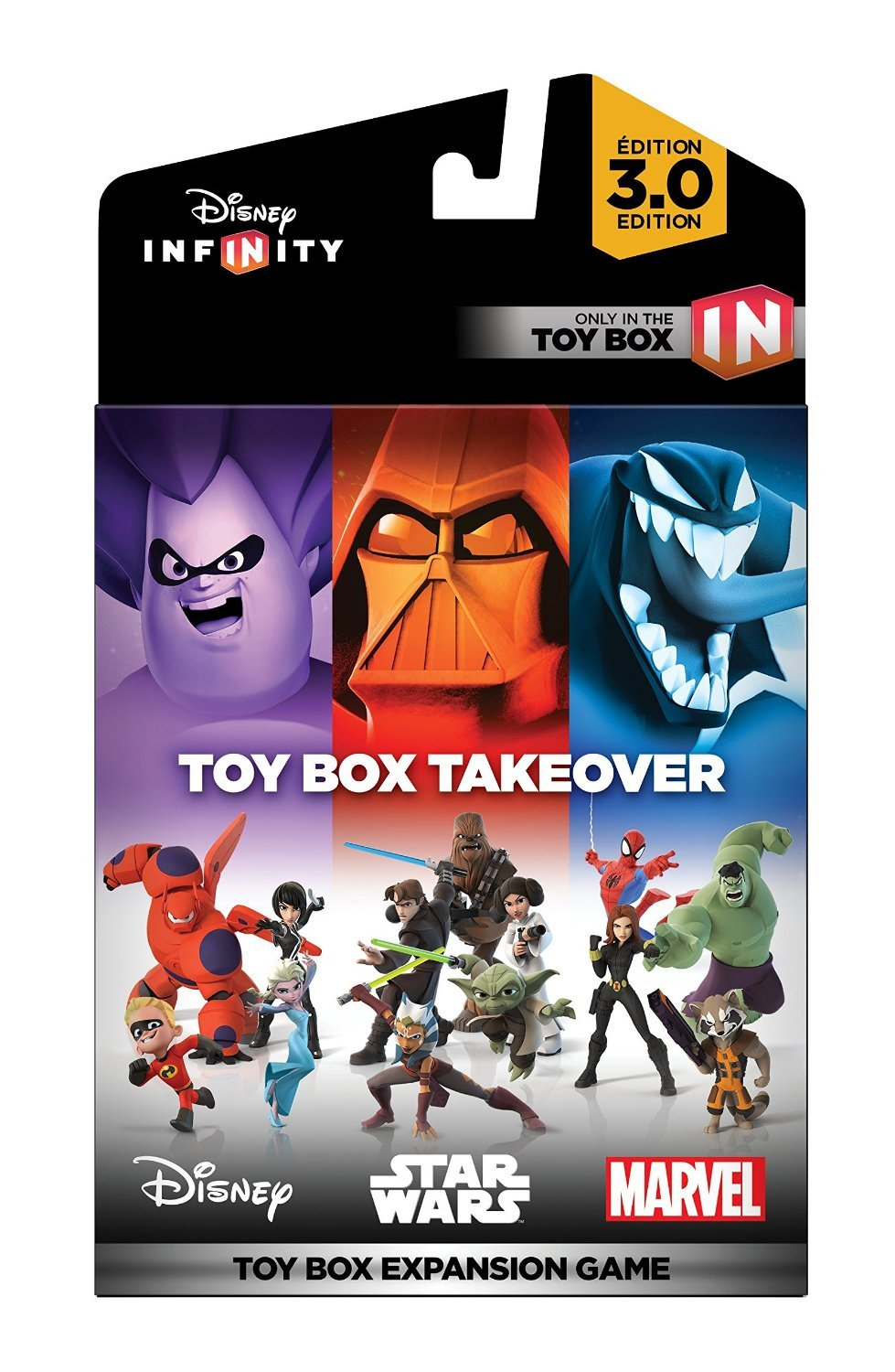 infinity 3 0. Disney Infinity 3.0 Toy Box Takeover - Edition: Xbox 360: Computer And Video Games Amazon.ca 3 0