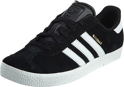 adidas Kids Boys Gazelle 2 J Athletic Shoes - Black