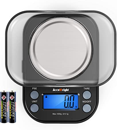 AccuWeight Mini Pocket Gram Scale