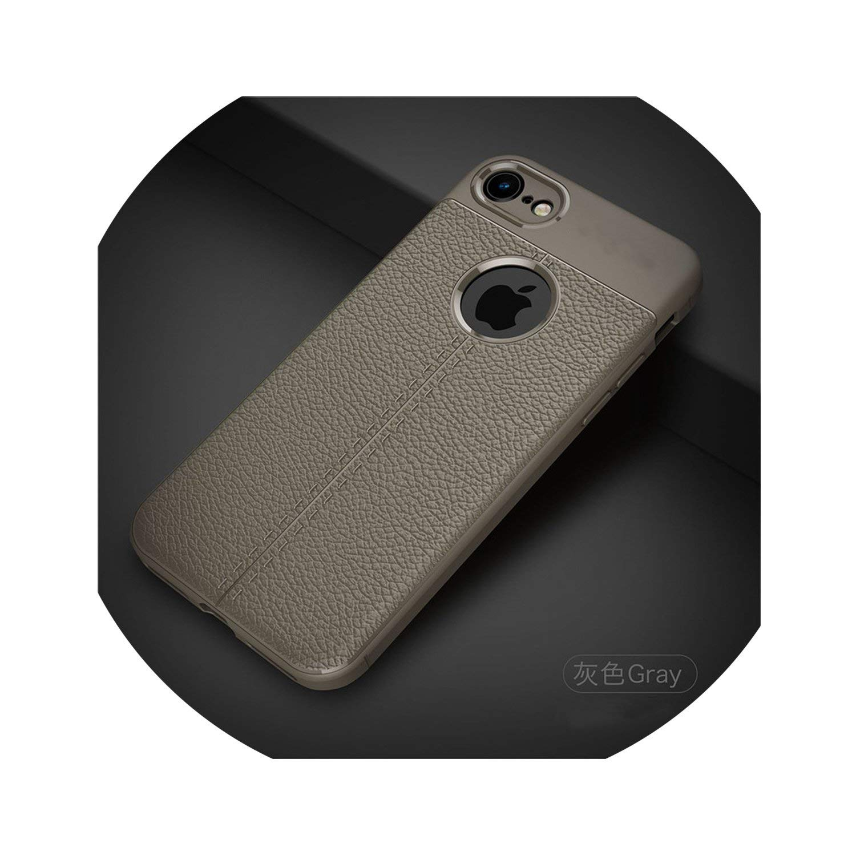 Amazon.com: for iPhone 7 Case Luxury Pu Leather Soft TPU ...