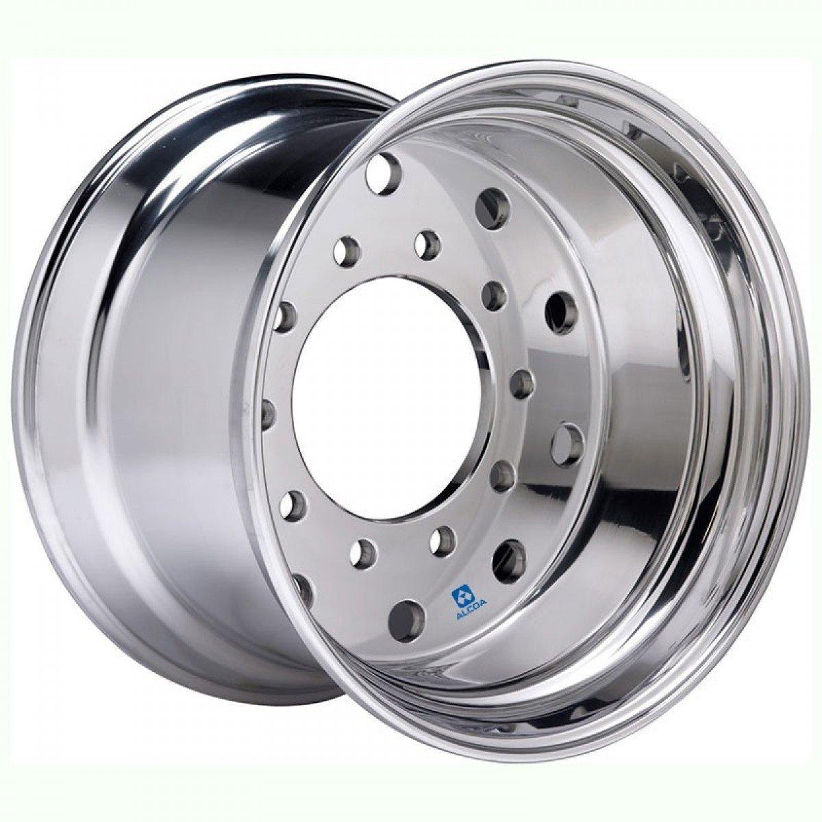 Alcoa 22.5'' x 14'' Polished X-One Super Single 10 Lug Polished Wheel (843622)