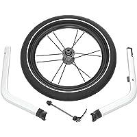 Thule 0872299043002 Chariot Jogging Kit 1 do przyczepki dziecięcej 1-osobowej, srebrny