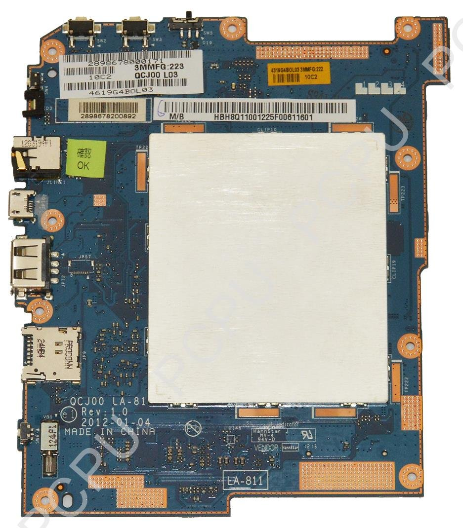 H8Q11.001 Acer Iconia A200 Tablet Motherboard w/ 32GB SSD: Computers &  Accessories