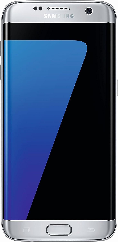 Samsung Galaxy S7 Edge - Smartphone de 5.5'' (SIM única, Android, Memoria Interna de 32 GB, 4G, NanoSIM, gsm, HSPA+, LTE), Plata