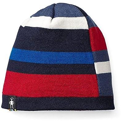 be915b2e422 SmartWool Kids  Wintersport Stripe Hat Deep Navy Heather LXL   Towel Bundle