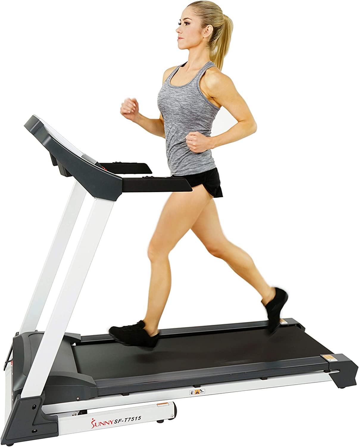 Best incline treadmill: Sunny Health & Fitness SF-T7515 Smart Treadmill