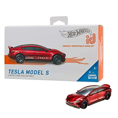 Hot Wheels id Tesla Model S {Factory Fresh}: Toys & Games