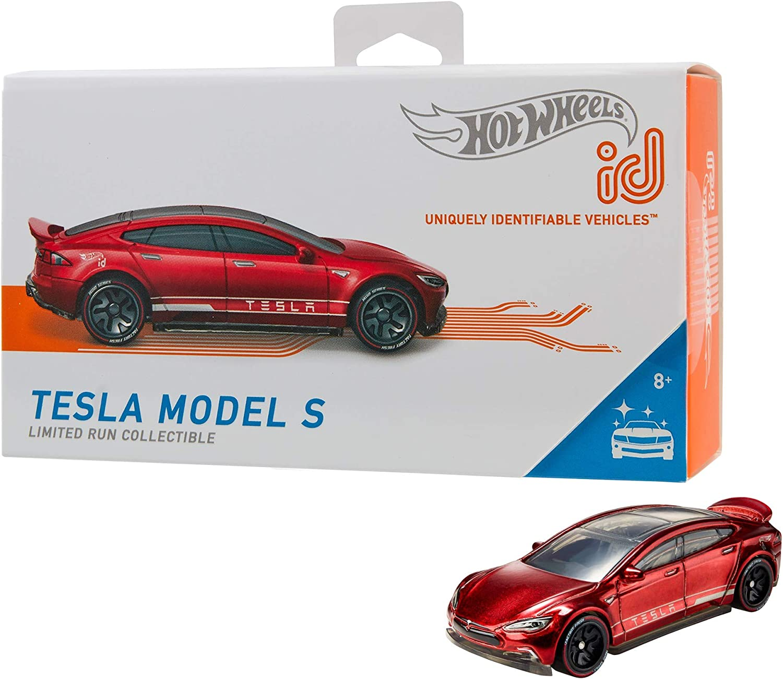 Amazon Com Hot Wheels Id Tesla Model S Toys Games