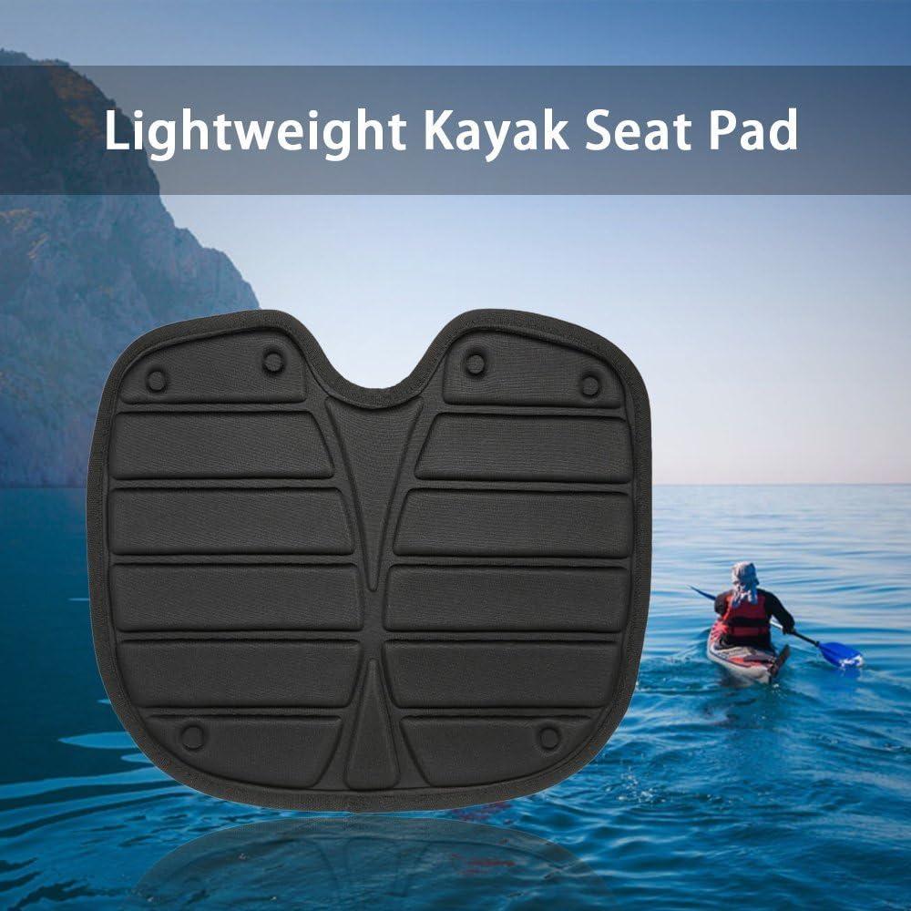 docooler coj/ín de asiento de respaldo de Kayak coj/ín de asiento ligero de nailon para el kayak sentado adessus